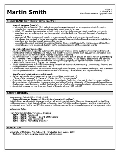 Professional resume writing services maine